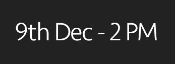 9th December, 2PM